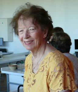 Mme Ferté (Schuttler avant) lors de la visite du Lycée le 6 juin 2015