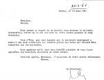 Note de M. Maillac 18 mars 1961