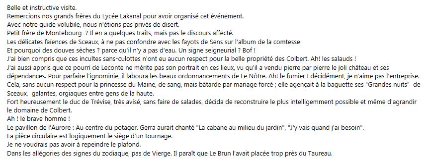 Résumé d'Alain Philippot
