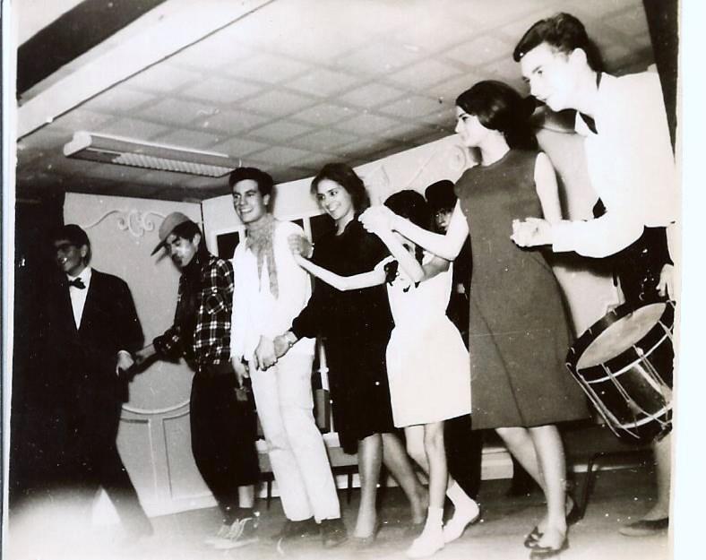 Théâtre 1964. Photo Yvette Sabbah.