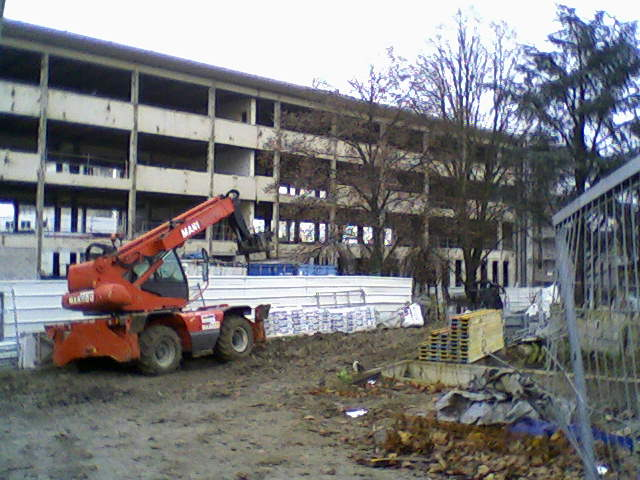 Travaux en novembre 2012