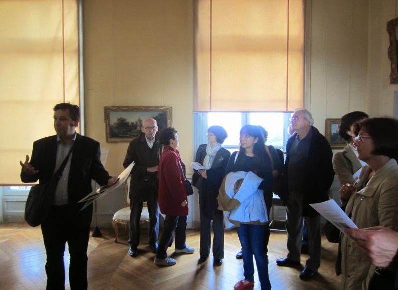 Musée de Sceaux. Visite des salles de peintures