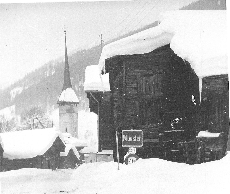 Münster sous la neige
